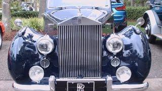 1950 Rolls Royce Silver Dawn Saloon Blu AmeliaIsland031315
