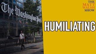 The Washington Post Humiliates Itself Yet Again