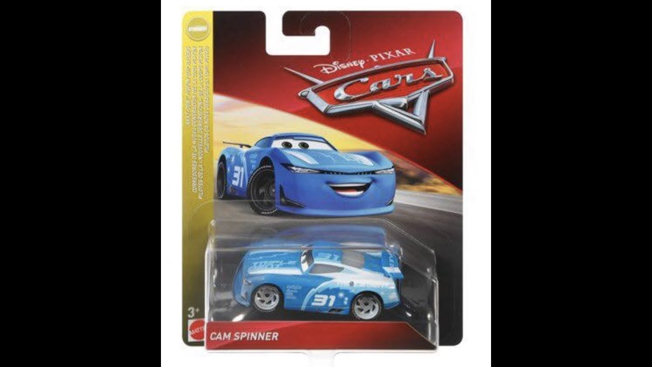 Cam Spinner And More New Disney Cars 2019 Diecasts Youtube