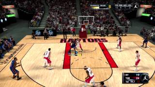 NBA 2k11 MJ Create a Legend - 18 Milestones in 1st Game