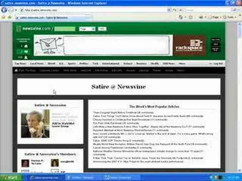 Newsvine Groups