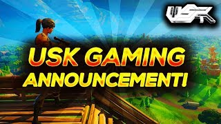 HUGE USK GAMING CLAN ANNOUNCEMENT!!!