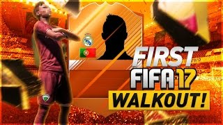 Our First FIFA 17 Player Walkout!! FUT 17 Pack Opening!