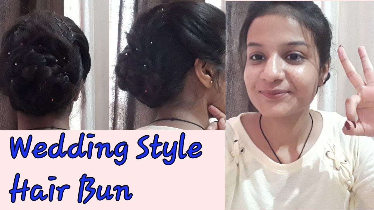 hairstyle for indian wedding guest | for thin and short hairs | ayushi  bansal