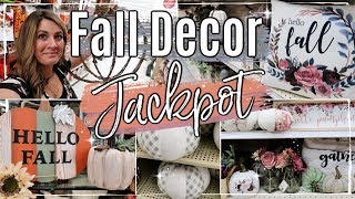 FALL SHOP WITH ME 2019 � :: BIG LOTS & HOBBY LOBBY FALL DECOR :: FALL DECORATION IDEAS ON A BUDGET