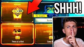 SECRETLY buying a subscriber the NEW GRAND SLAM!!! (HE FREAKED OUT!) WORLDS BEST Bribe Black Ops 3