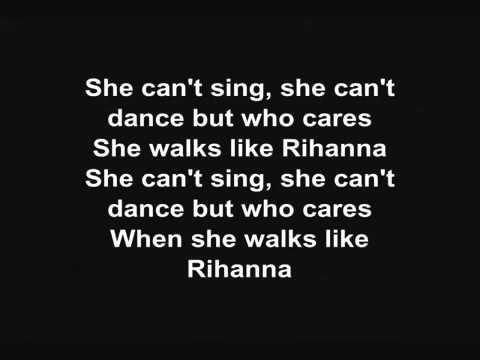 The Wanted - Walks Like Rihanna (lyrics)