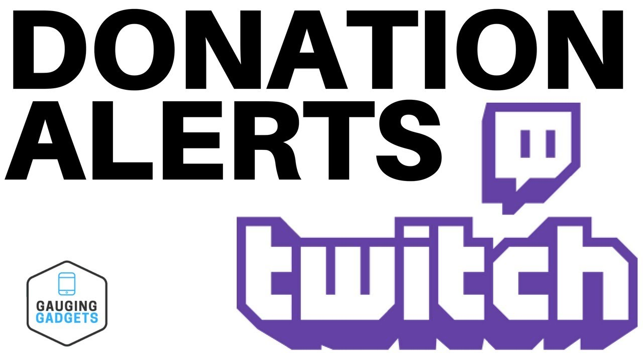 How To Setup Twitch Donation Alerts In OBS - Donation Notifications Tutorial
