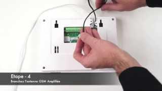 Mise en Route & Branchements Alarme Maison FOCUS GSM + RTC
