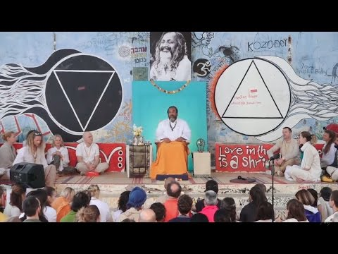 Let It Be — Satsang with Moojibaba at the Beatles Ashram – A Must See Video!
