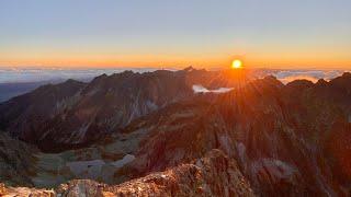 Vysoké Tatry - Rysy - Západ slunce - Září 2020