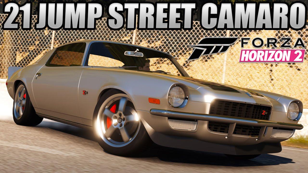 Forza Horizon Custom Cars Jump Street Chevy Camaro Z