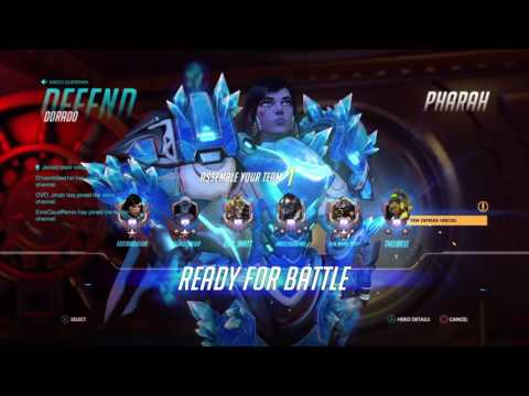 Overwatch: Toxic player thinks he's the shit and ignores/blames team