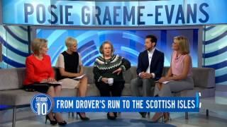 Posie Graeme Evans on Studio 10