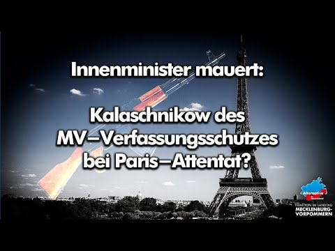 Sondersitzung Innenausschuss: Was weiß Innenminister Renz zum Kalaschnikow-Skandal wirklich?