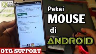 Cara Hubungkan Mouse Dengan USB OTG Ke Smartphone Android