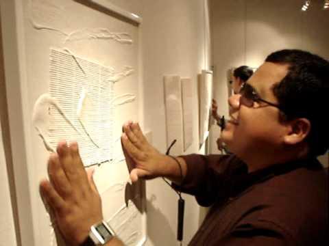 Jorge Restrepo art for the blind Managua