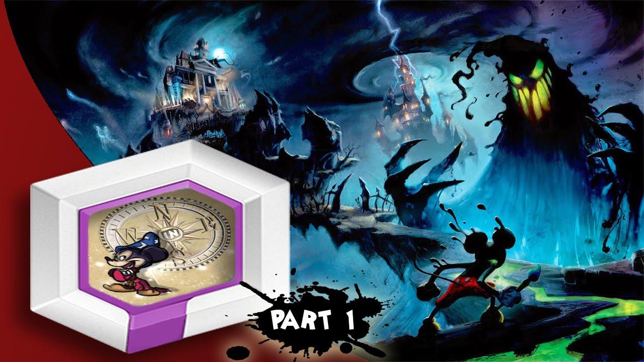 Epic Mickey Disney Infinity 3 0 Toybox Part 1 Youtube