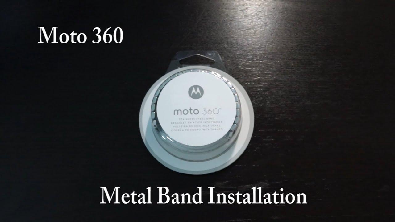 Moto 360: OEM Metal Band Installation