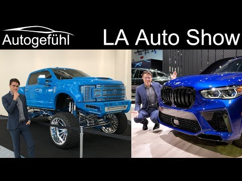 LA Auto Show Highlights Tour 2019 reviews for new cars in 20