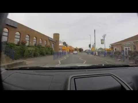 GoPro: Time lapse car ride to Chapel St Leonards village