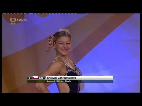 FISAF INTERNATIONAL FITNESS AND SPORTS AEROBICS 2014 - Kristyna Zahradnickova