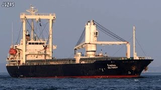 SEA FOREST General cargo ship 貨物船 関門海峡 2014-SEP