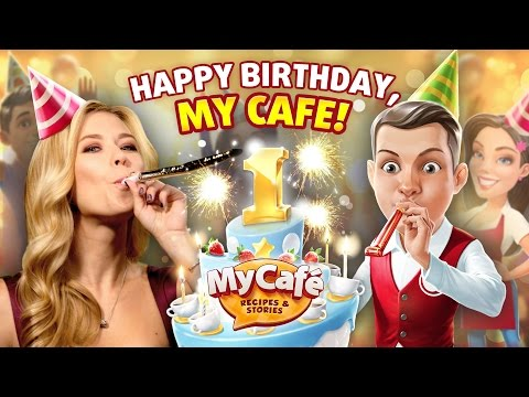 My Cafe Birthday Update