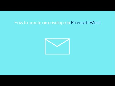 how-to-create-an-envelope-in-word