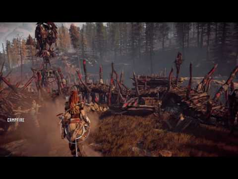 Horizon Zero Dawn- Ancient Vessel 'Wayfarers' Location below Devils Thirst Bandit Camp