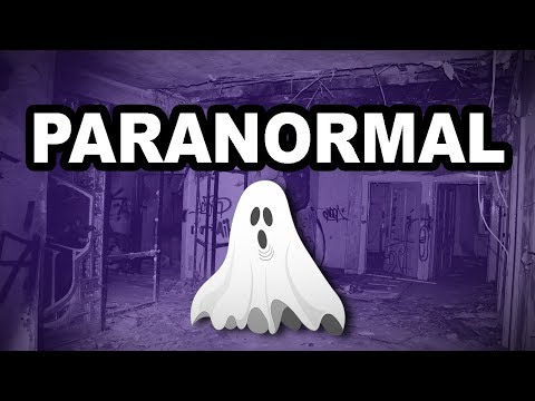 👻 Learn English Words - PARANORMAL - Meaning, Vocabulary Lesson with Pictures and Examples