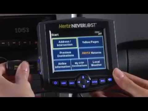 Thumbnail: Hertz NeverLost 5 Product Demo