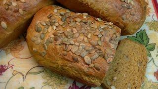 Yeasted Pumpkin Bread Recipe ~ Noreen's Kitchen