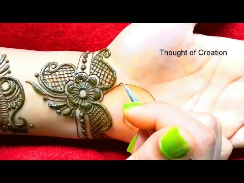 Arabic Mehndi Design -Unique and New  |Thought of Creation thumbnail