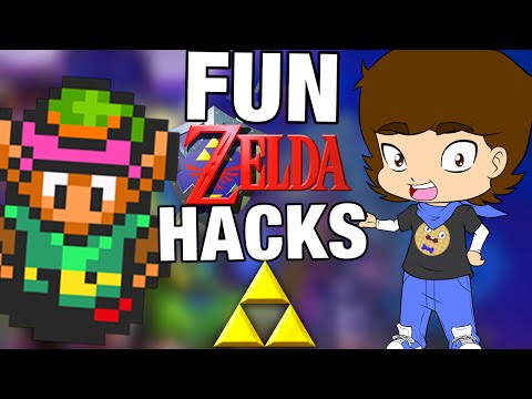 FUN Legend Of Zelda Fan Games and HACKS! - ConnerTheWaffle