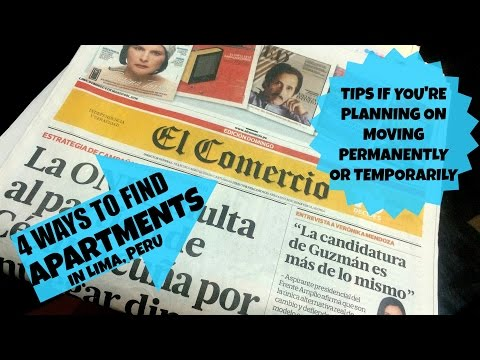 How to find apartments, houses and rooms in Lima, Peru. (Video 25)