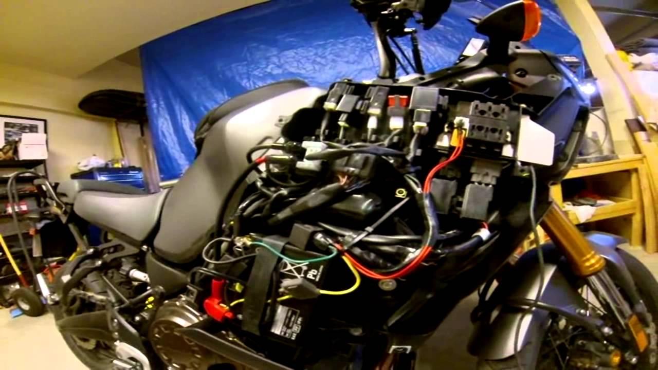 Yamaha Super Tenere Battery