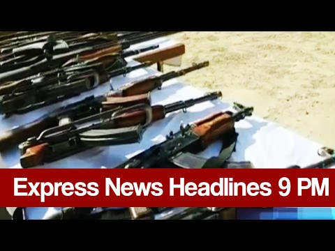 Express News Headlines and Bulletin - 09:00 PM | 21 February 2017