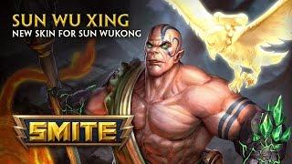 SMITE - New Skin for Sun Wukong - Sun Wu Xing