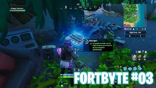 Fortnite Battle Royale ? Défis Fortbyte Comment obtenir le #62 Fortbyte