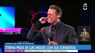 Luis Miguel golpea a sonidista (HD)