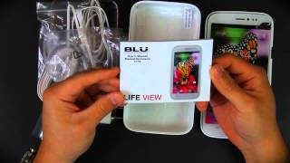 BLU Life View Unboxing
