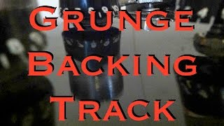 Grunge Rock Backing Track in D