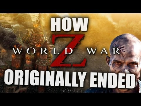 How WORLD WAR Z Originally Ended
