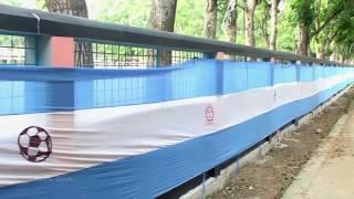 The Biggest Argentina Flag