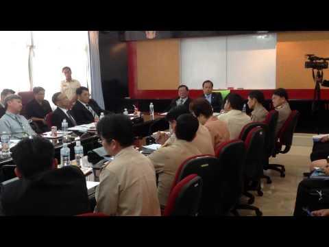 การประชุม ก.กลาง เรื่องการแก้ไขปัญหาเงินโบนัสท้องถิ่น 27 ก.ย.2556