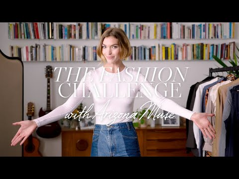 The Sustainable Fashion Challenge with Arizona Muse | NET-A-PORTER