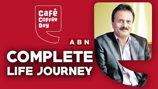 Coffee Cafe Day Founder V G Siddhartha | The Complete Life Journey | ABN Telugu