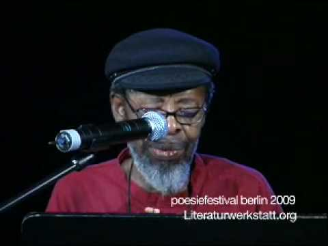 Keorapetse Kgositsile @poesiefestival berlin 2009