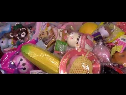 Squishy Collection Asmr No Talking Crinkly Crunchy Packaging Soothing Sounds